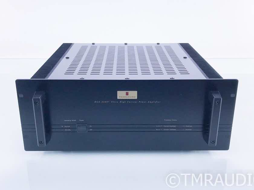 Parasound HCA-2200 MkII Stereo Power Amplifier HCA2200 Mark 2 (16684)