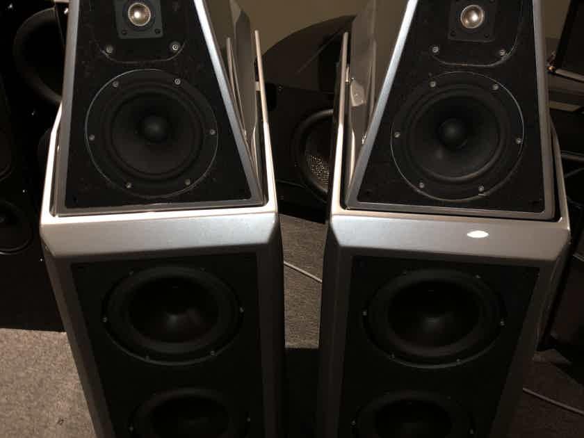 Wilson Audio Sasha in titanium silver
