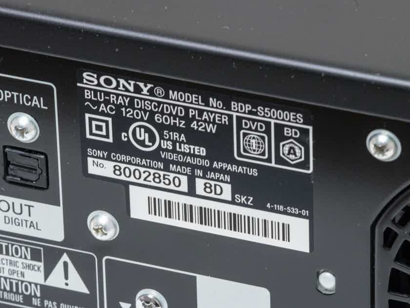 Sony BDP-S5000es Blu-ray Player