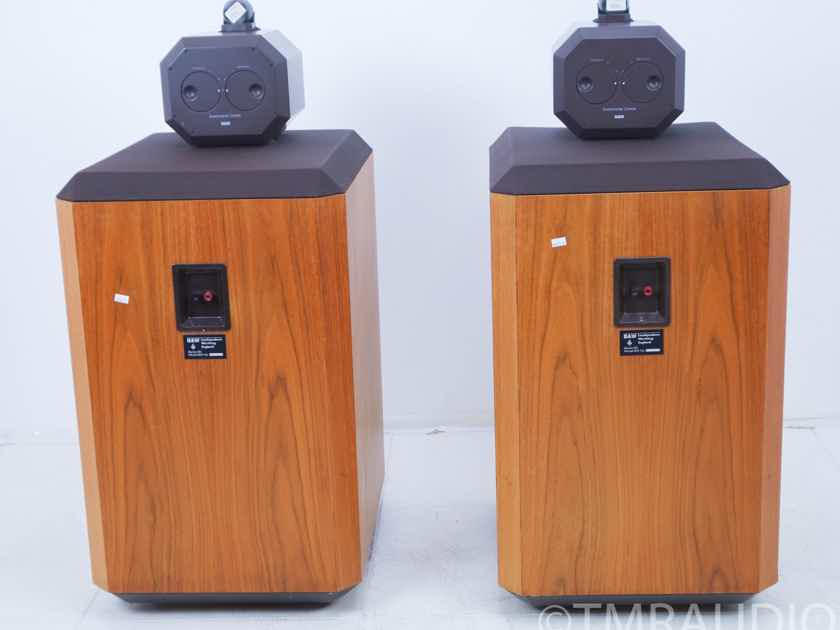 B&W 801 Series 80 Monitor Loudspeakers; Walnut Pair; One Owner(10501)