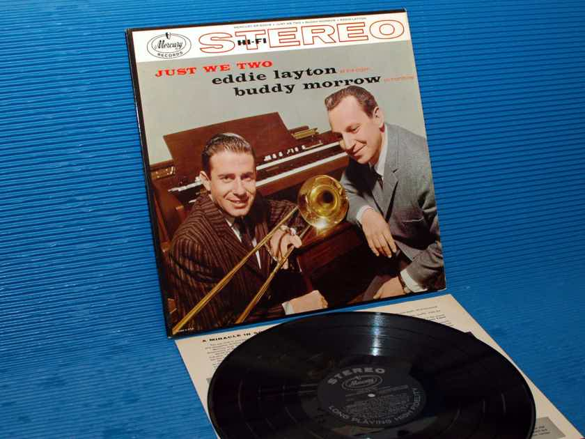 "EDDIE LAYTON & BUDDY MORROW  - ""Just We Two"" - Mercury 1958 1st Pressing Stereo"