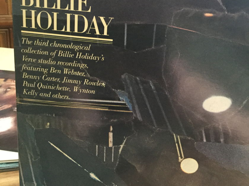 BILLIE HOLIDAY - ALL OR NOTHING AT ALL 2 RECORD VERVE SET