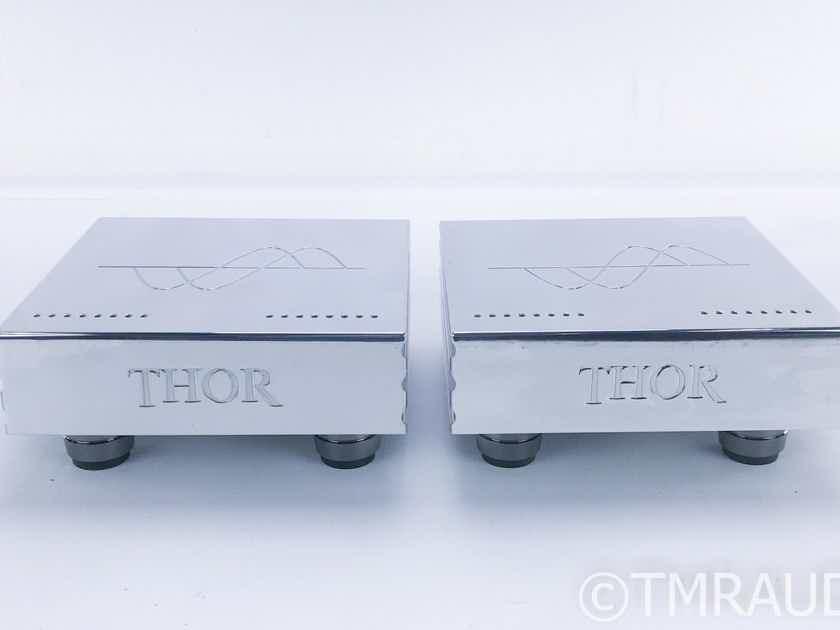 Merrill Audio Thor Mono Power Amplifier Limited Edition Silver Pair (16659)