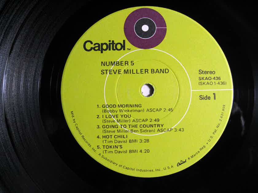 Steve Miller Band - Number 5  - 1970 Capitol Records SKAO-436