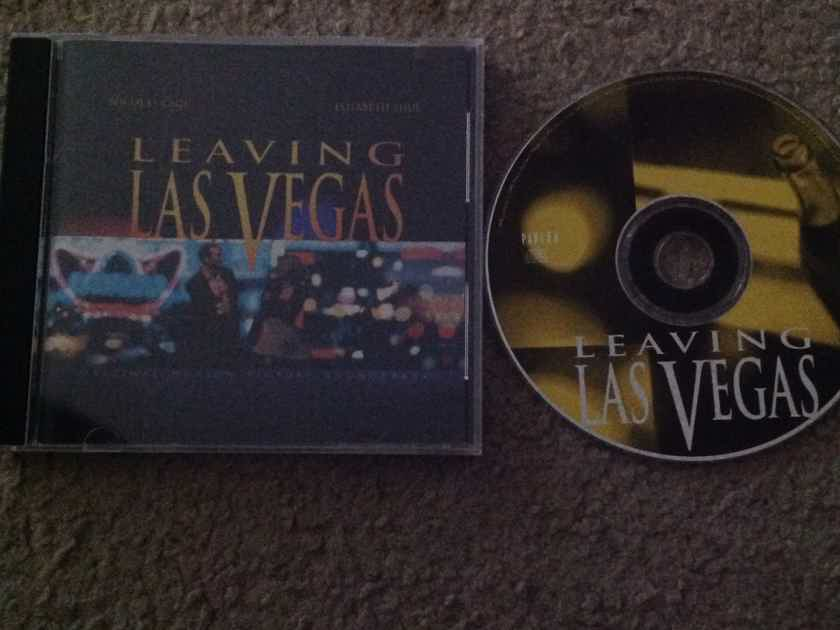 Sting Don Henley  - Leaving Las Vegas Soundtrack  I.R.S. Records Compact Disc