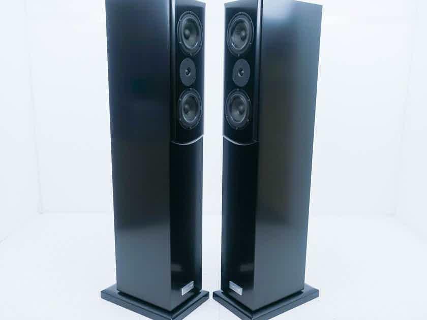 Salk Songtower QWT Floorstanding Speakers Black Pair (14189)