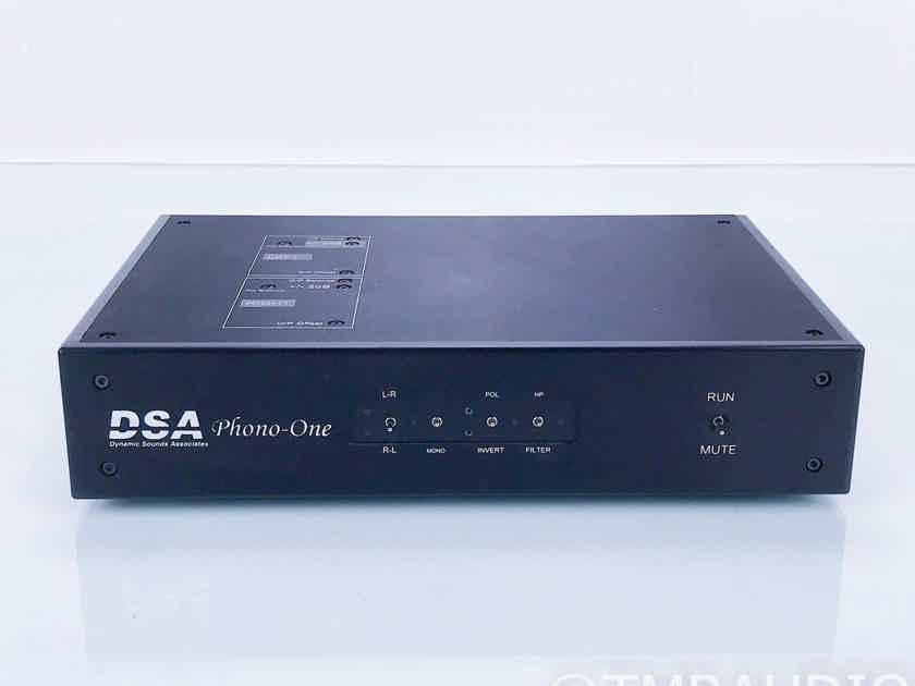 DSA Phono-One MM / MC Phono Preamplifier; Dynamic Sounds Associates; Beta Model (16837)