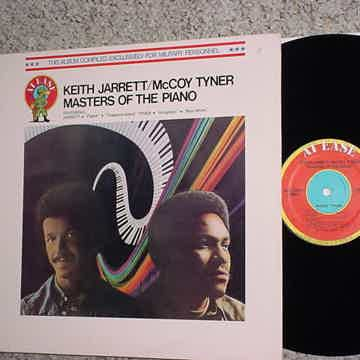 Keith Jarrett McCoy Tyner lp record masters of the piano MADE FOR MILITARY
