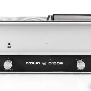 Crown D150A Vintage Stereo Power Amplifier