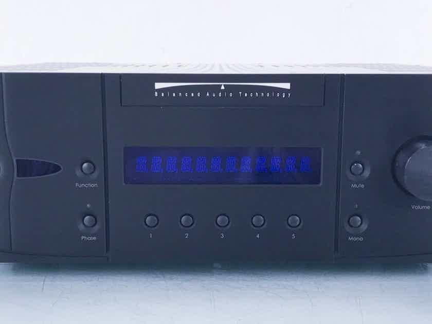 BAT VK3000SE Stereo Tube Hybrid Integrated Amplifier Remote (15227)