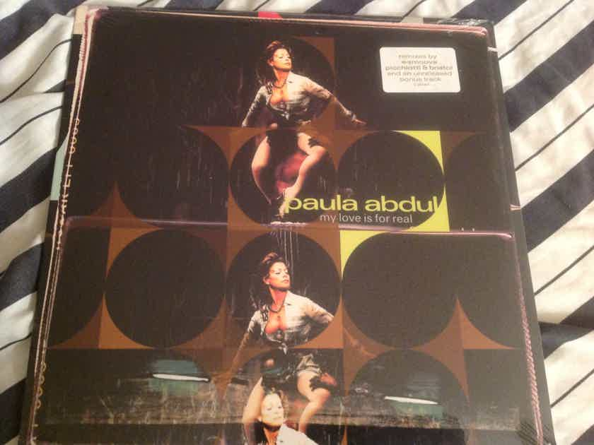 Paula Abdul  My Love Is For Real Sealed 12 Inch Remixes Virgin Records
