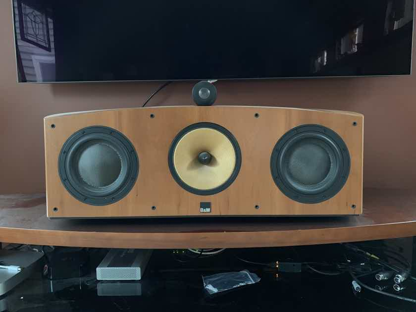 B&W (Bowers & Wilkins) HTM-3S Center Channel Cherry