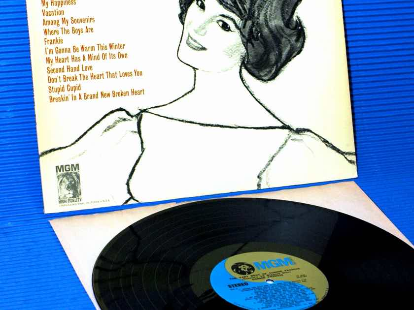 """CONNIE FRANCIS  - """"The Very Best of Connie Francis"""" - MGM 1968"""