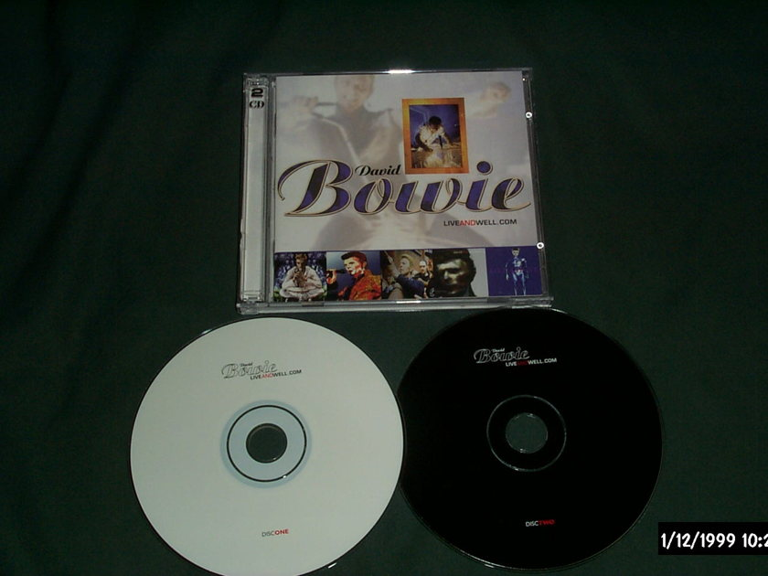 David Bowie - Liveandwell.com 2 cd fanclub only release