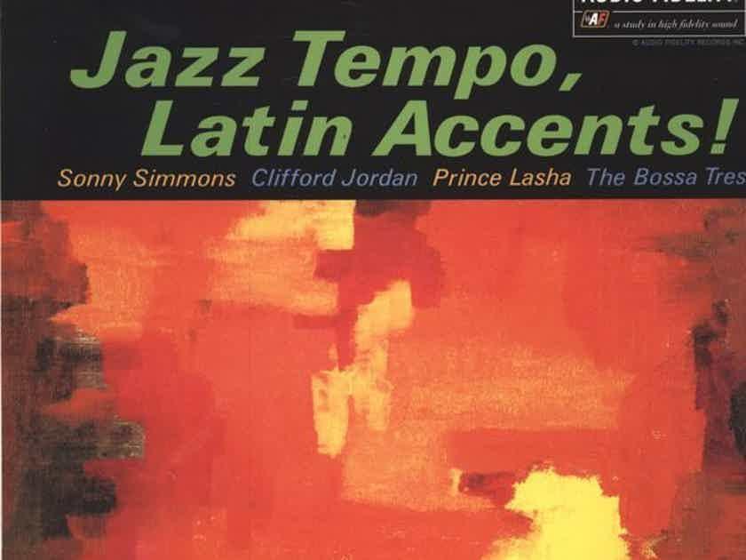 Prince Lasha, Clifford Jordan & Sonny Simmons - Jazz Tempo & Latin Accents Audio Fidelity