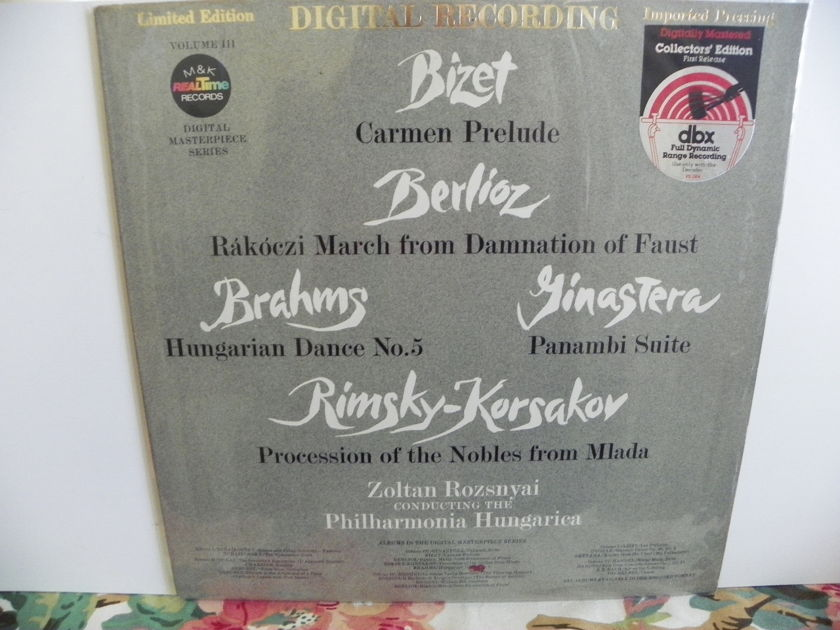 ZOLTAN ROZSNYAI/PHILHARMONIA HUNGARICA - BIZET,BERLIOZ,BRAHMS,RIMSKY-KORSAKOV LIMITED EDITION DIGITAL NM