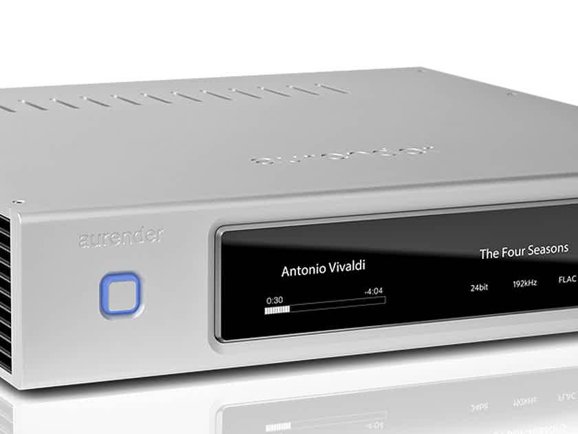 AURENDER N10 Music Server in SILVER at HIGH-END PALACE
