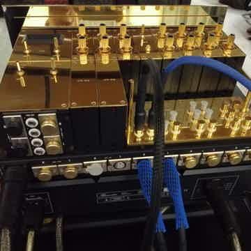 Burmester 808 MK5 25 Anniversary Gold version