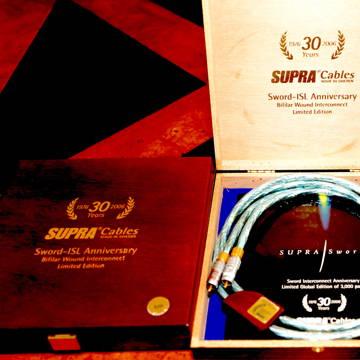 Supra Cables Sword- IFL Anniversity 1m RCA's