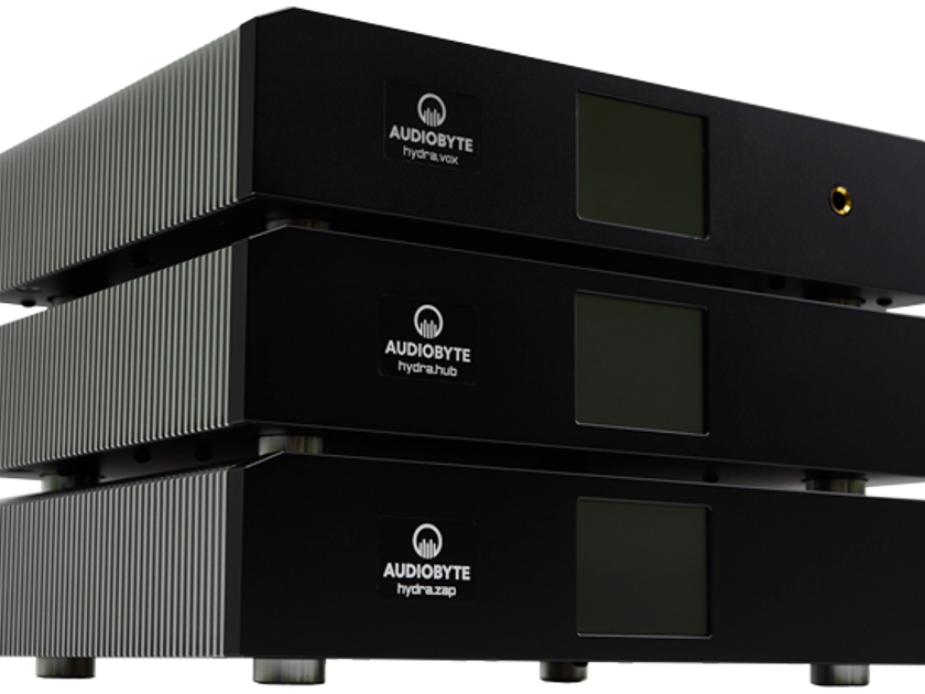 Audiobyte Hydravox DAC and Zap Power Supply