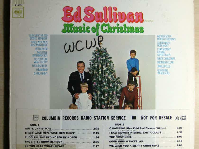 Ed Sullivan Presents - Music Of Christmas -  DJ Promo 1967 Columbia CS 9543