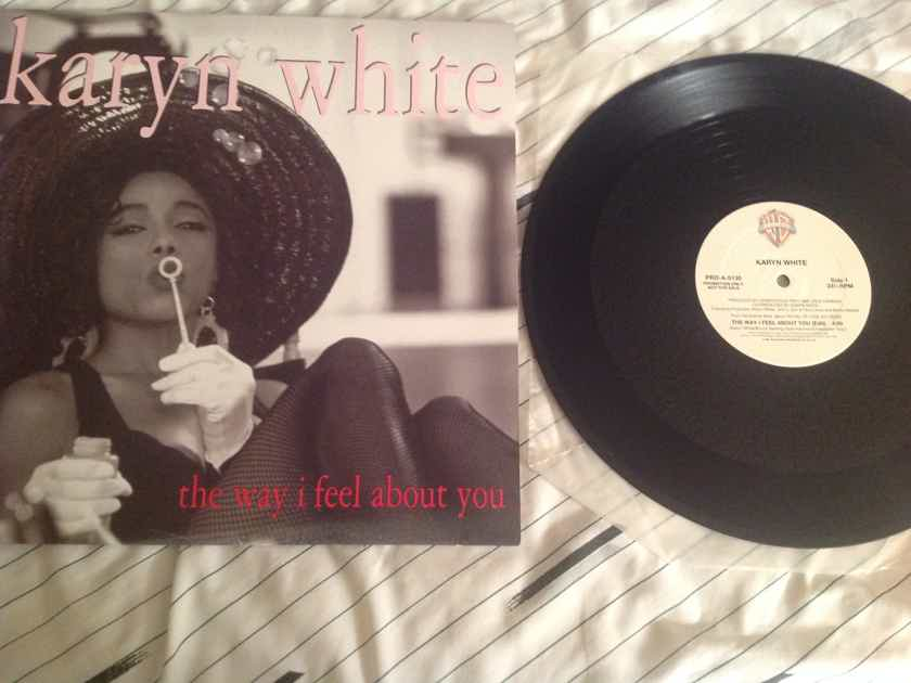 Karyn White The Way I Feel About You Warner Brothers Promo 12 Inch