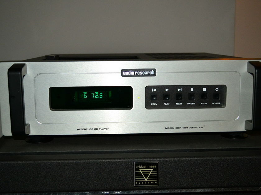 Audio Research REF CD 7  CD player reduced!