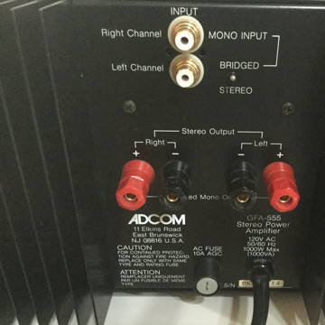 Adcom GFA-555