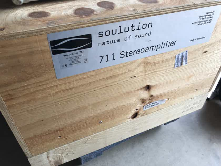 Soulution 711 Stereo Amp