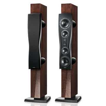 DYNAUDIO C4 PLATINUM  FULL-RANGE LOUDSPEAKERS IN MOCCA ...