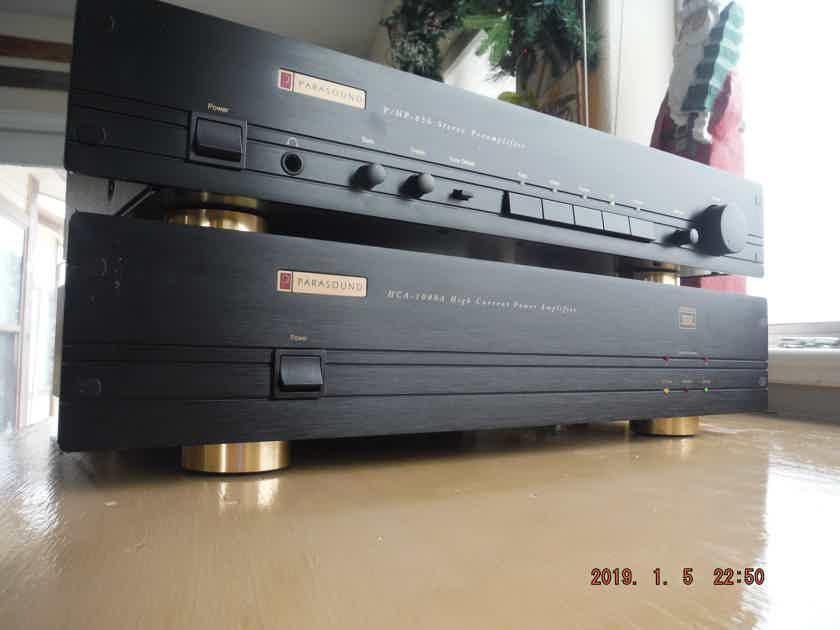 Parasound  P/HP-850 and HCA-1000A