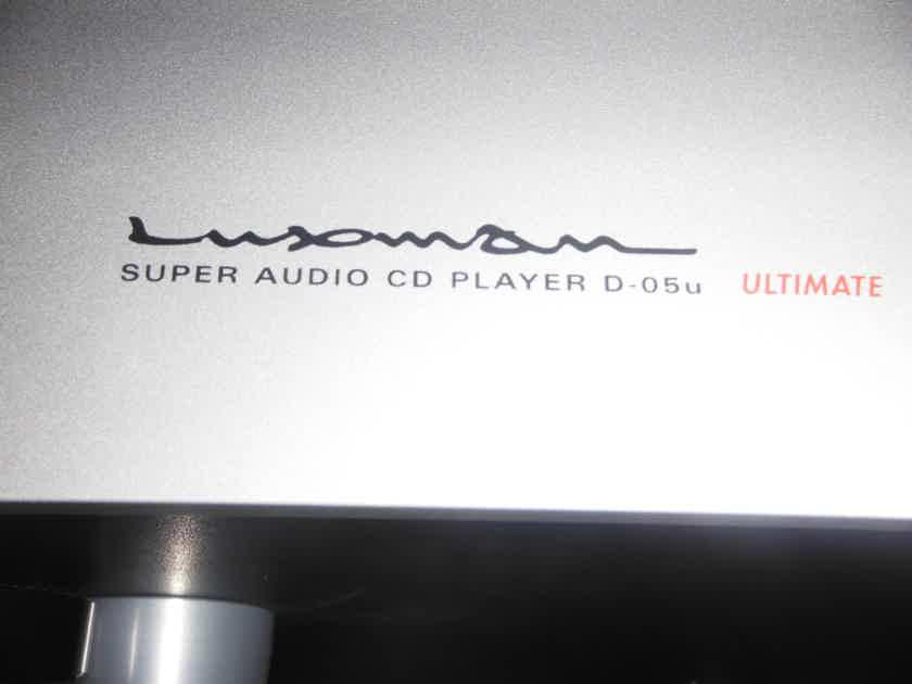 Luxman D-05U Super Audio cd player