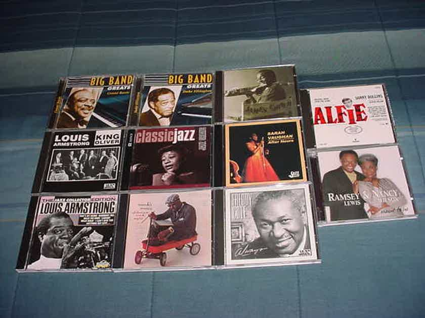 JAZZ CD lot of 11 cd's see add