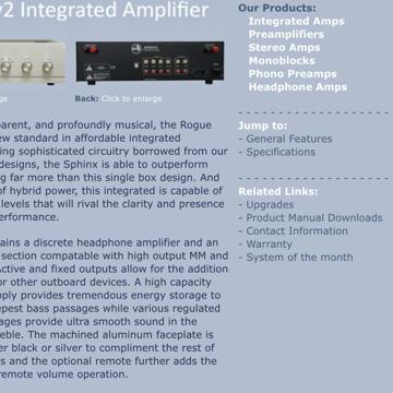 Rogue Audio Sphinx 2
