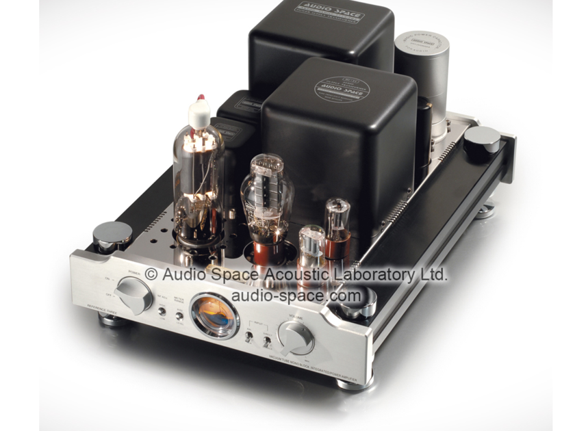 Audio Space Reference Three (805) Mono Tube Power Amplifiers; Silver Pair; (New / Open Box) (12395)