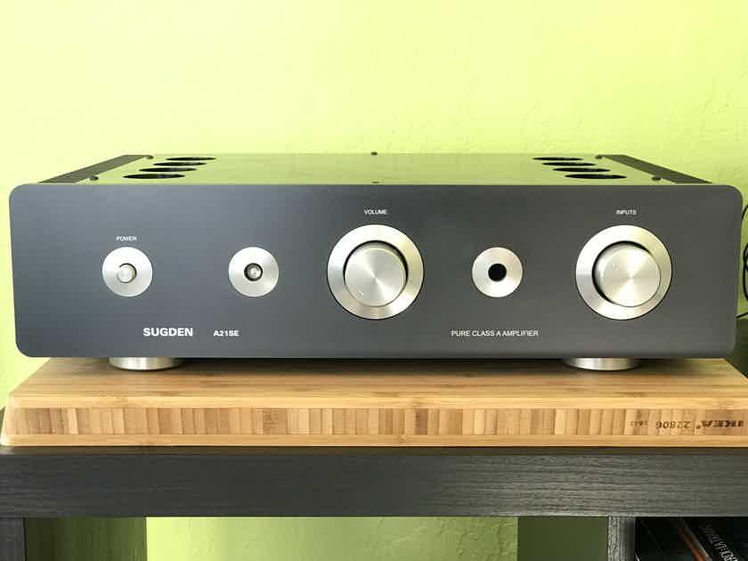 Sugden Audio Products A21se Signature Class A Operation