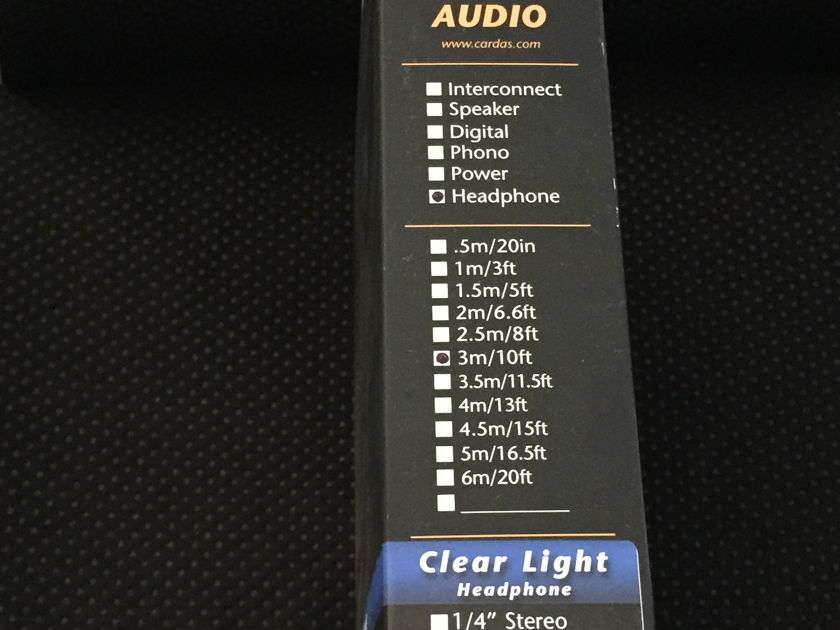 Cardas Audio Clear Light 1 meter RCA audio interconnects