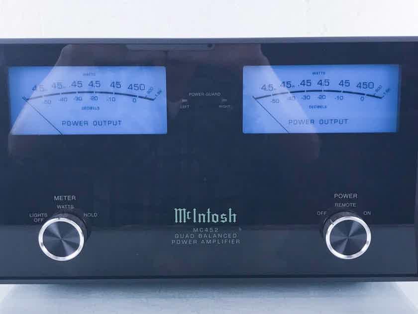McIntosh MC452 Stereo Power Amplifier MC-452 (15286)