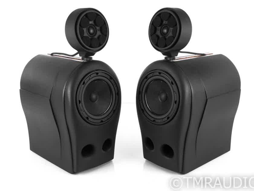 Green Mountain Audio Eos HX Bookshelf Speakers; Black Pair; Eos-HX (No Grills) (21332)