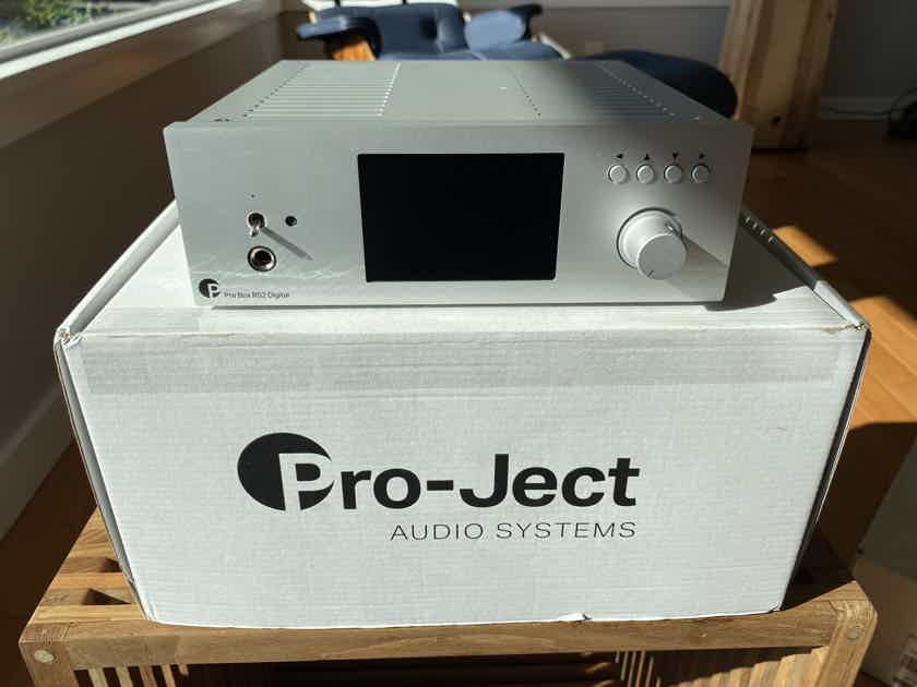 Pro-Ject Pre Box RS2 Digital - Pre-amplifier, DAC, headphone amp