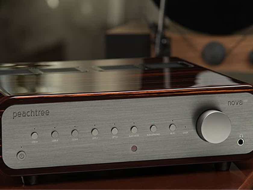 Peachtree Audio Nova 300 NEW 300wpc integrated with DAC- Superb for the money