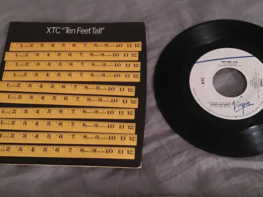 XTC Ten Feet Tall EP Virgin Records NM