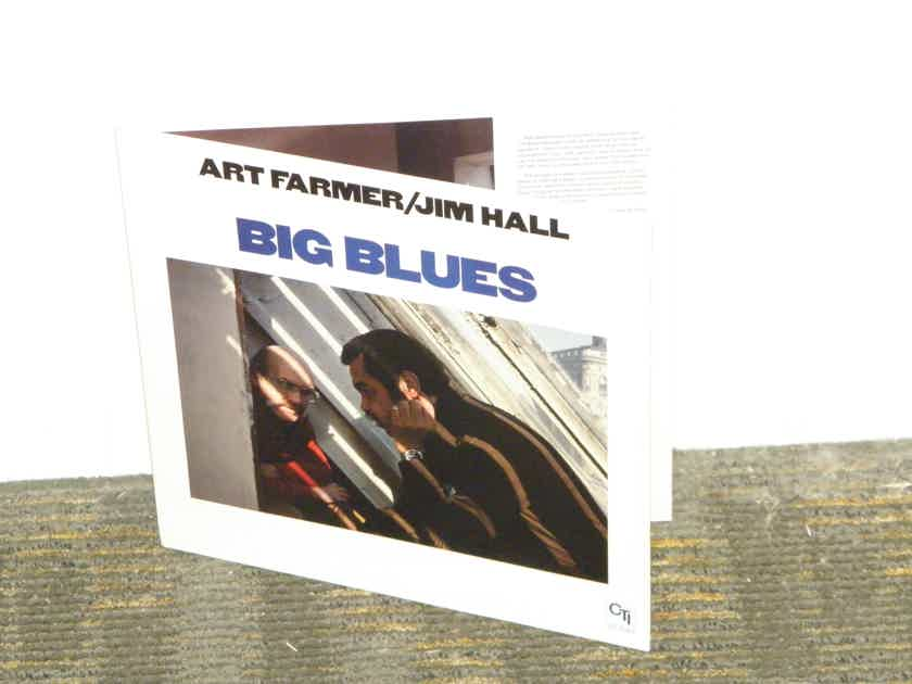 "Art Farmer/Jim Hall - ""Big Blues"" CTI 7083 Gatefold pristine copy"