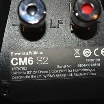 B&W (Bowers & Wilkins) CM6 S2