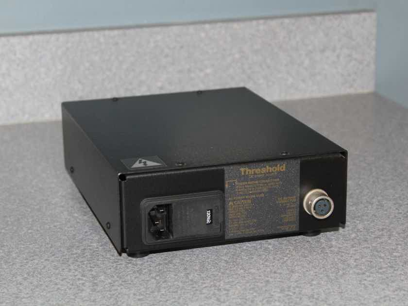 Threshold FET Ten PC MM/MC phono stage with E power supply - NELSON PASS