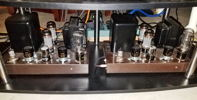 System 2: Refurbed 1960s tube amps