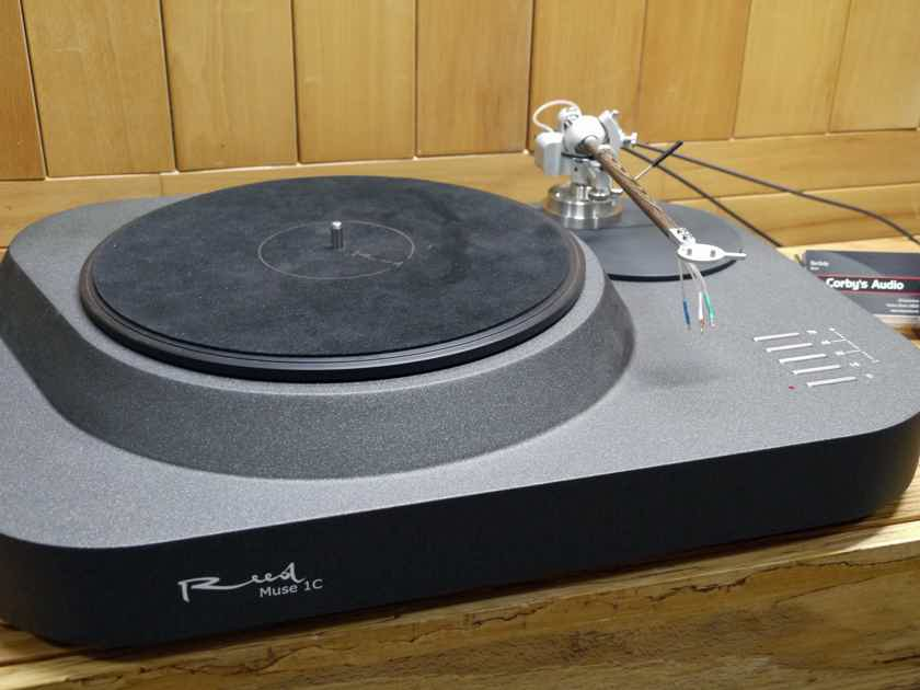 Reed muse 1C with Reed 1X tonearm