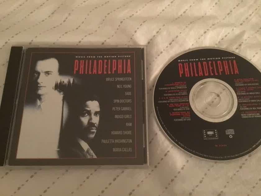 Soundtrack Bruce Springsteen Neil Young  Philadelphia
