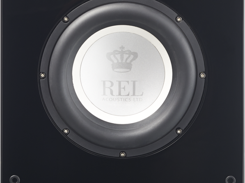 "REL T-7i 8"" Powered Subwoofer; T7i; Piano Black (New / Warranty) (22940)"