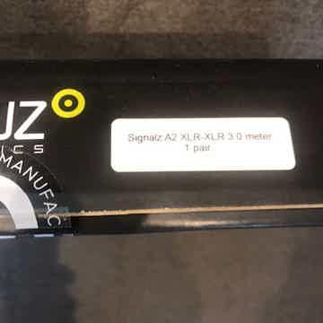 Ansuz Acoustics Signalz A2 Interconnect XLR 3 Meter